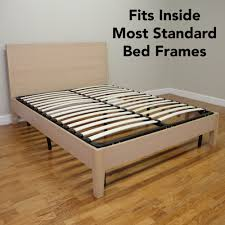 bed frame with mattress included. Exellent With Classic Brands Europa Wood Slat And Metal Platform Bed Frame  Mattress  Foundation Queen Amazonca Home U0026 Kitchen Intended With Included