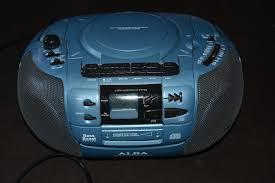 alba stereo cette radio recorder with cd