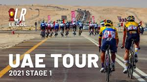 Crosswind Carnage | UAE Tour Stage 1 2021 | Lanterne Rouge Cycling Podcast  x Le Col Recap - YouTube