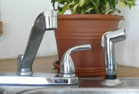 how to fix or replace a custom kitchen sink sprayer