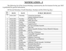 In neighbouring maharashtra, ugadiis celebrated as gudi padwa or the marathi new year. Holiday List 2021 General Restricted Holidays Sanctioned By The Karnataka Government For The Year 2021 Central Govt Employees 7th Pay Commission Staff News