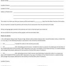 30 day termination letters early termination of tenancy agreement letter refrence agreement