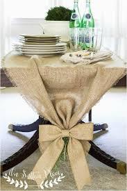stunning easy no sew burlap table runner snap