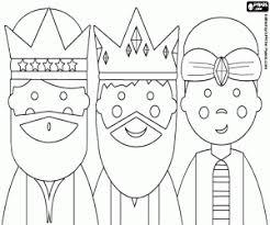 Kleurplaten Drie Koningen Of Wijzen Uit Het Oosten Kleurplaat