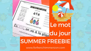 Worksheets for english speaking students that are learning the french language. Free Printables Archives For French Immersion