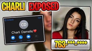CHARLI DAMELIO PHONE NUMBER LEAKED
