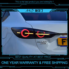 Mazda 3 Radio Lights Not Working Us 401 8 18 Off Akd Tuning Cars Tail Lights For Mazda 3 Mazda3 Axela 2014 2018 Taillights Led Drl Running Lights Fog Lights Angel Eyes Rear Park In