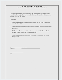 Employee Acknowledgement Form Template Training Acknowledgement Form Template 13a13bce13c13b