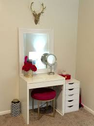 Amazing of Small Vanity Table IKEA with Best 25 Ikea Makeup Vanity Ideas On  Pinterest Vanity Makeup