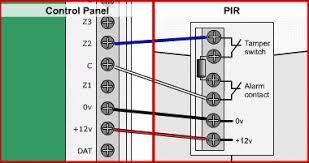wiring diagram for alarm pir wiring wiring diagrams online wiring diagram for pir security sensor wiring diagram