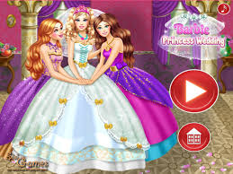 play barbie princess wedding barbie wedding makeup
