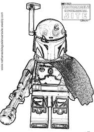 Small Picture Boba Fett Coloring Pages Syougitcom