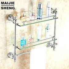 shower rack chrome crystal bathroom glass shelf bath corner gold holder ikea grundtal luxury show shelves for bathroom layout design minimalist ikea glass