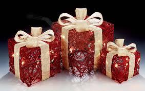 3 Light Up Christmas Boxes Enjoyable Light Up Christmas Presents Pretentious