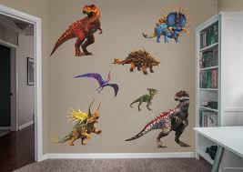 jurassic world hybrid dinosaurs collection large officially licensed removable wall graphics fathead wall decal