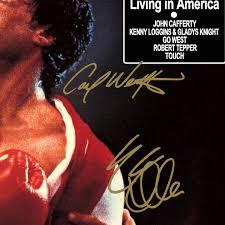 Rocky IV Movie Soundtrack LP Cover Limited Signature Edition Studio  Licensed Custom Frame