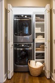 Washer And Dryer In Kitchen Built In Washer Dryer Hide Away Your Laundry Machine Where No