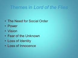 introduction and background ppt themes in lord of the flies
