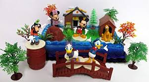 Amazoncom Mickey Mouse Clubhouse Birthday Cake Topper Featuring