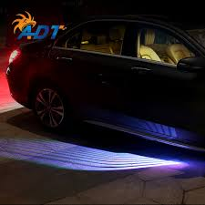 Auto Courtesy Light 2018 New Led Car Light Projector Ghost Courtesy Angel Wing Welcome Light For All Car In Auto Lighting System Buy High Quality Car Light