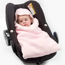 pink cream car seat