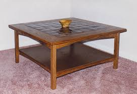 ... Coffee Table, Mission Style Tile Top Oak Coffee Table Mission Style Coffee  Table Plans Free ...