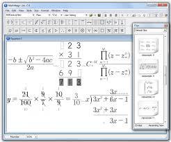 mathmagic lite is a versatile equation editor microsoft equation editor talkchannels