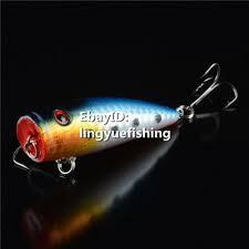 <b>6.5CM</b>/10G HARD POPPER <b>BAIT</b> TOPWATER <b>FISHING LURES</b> ...