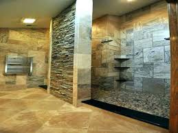 stone natural shower cleaner how to clean tile bathroom rustic bathrooms inside r pan in designs
