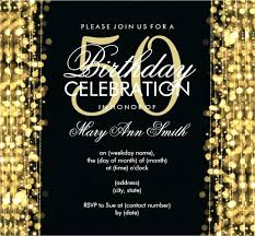 Sample Of 50th Birthday Party Program 50th Party Invitation Wording Birthday Invitation 50th Birthday