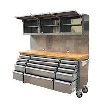 tool chest for sale. 72\u2033 tool chest work station 18 drawer stainless steel tool chest for sale e