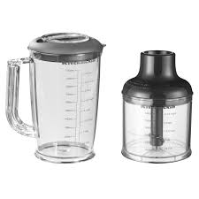 kitchenaid hand blender with accessories chopper container