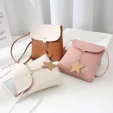WILY# Korean <b>Fashion</b> Mini <b>Five</b>-<b>Pointed</b> Star Sling <b>Bag</b>   Shopee ...
