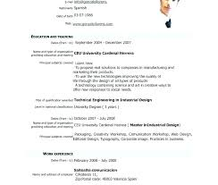 Modeling And Acting Resume Template Resume Template Types Of
