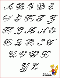Abcd Chart With Picture Lovely 3rd Abcd Letters Job Latter