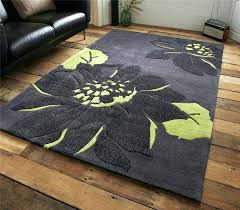 grey green rug