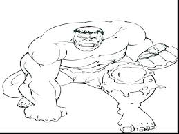 Hulk Coloring Pictures Admakerme