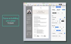 Pages Templates Resume Resume Cv Templates For Pages On The Mac App Store  Free