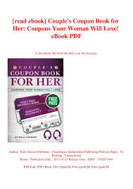 Read Ebook Couples Coupon Book For Her Coupons Your Woman