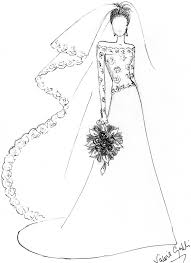 Try these free wedding dress coloring page. Sweet Wedding Dress Coloring Pages 5166 Wedding Dress Coloring Pages Coloringtone Book