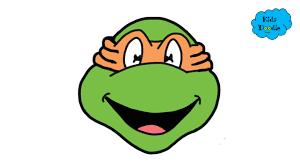 ninja turtles michelangelo. Modren Ninja How To Draw Michelangelo From Teenage Mutant Ninja Turtles Episodes Full  Step By Guide In E