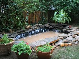 Small Picture Outdoor Pond Installation HGTV