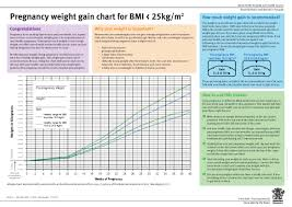 Pregnancy Height Weight Chart Example Average Baby Weight Gain Chart Pdf Format E