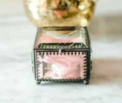 personalised vintage inspired glass jewellery box ring ideas singapore alternative wedding boxes