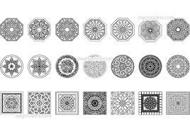 Arabic Pattern Arabic Pattern Dwg Free Cad Blocks Download