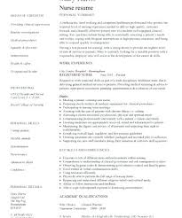 Nursing Resumes Templates Classy Template For Nursing Resume Medicinabg