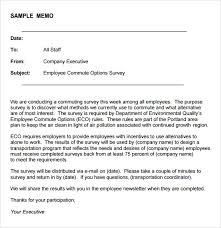 Sample Blank Memo 6 Documents In Pdf
