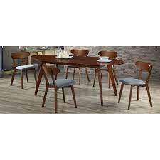 wilson extendable dining table walnut concept