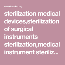 Spaulding Classification Chart Sterilization Medical Devices Sterilization Of Surgical