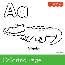 Small Picture A is for Alligator Create a colorful alphabet library with us